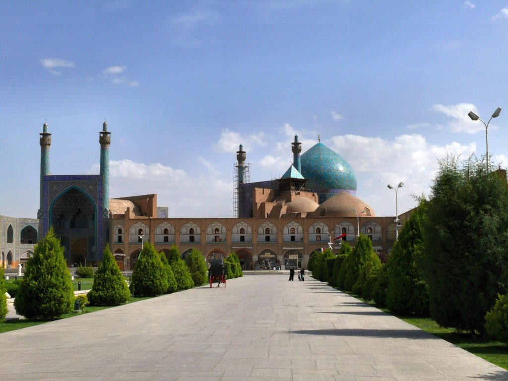 The Masdjed-e Shah (Mosque of the Shah)