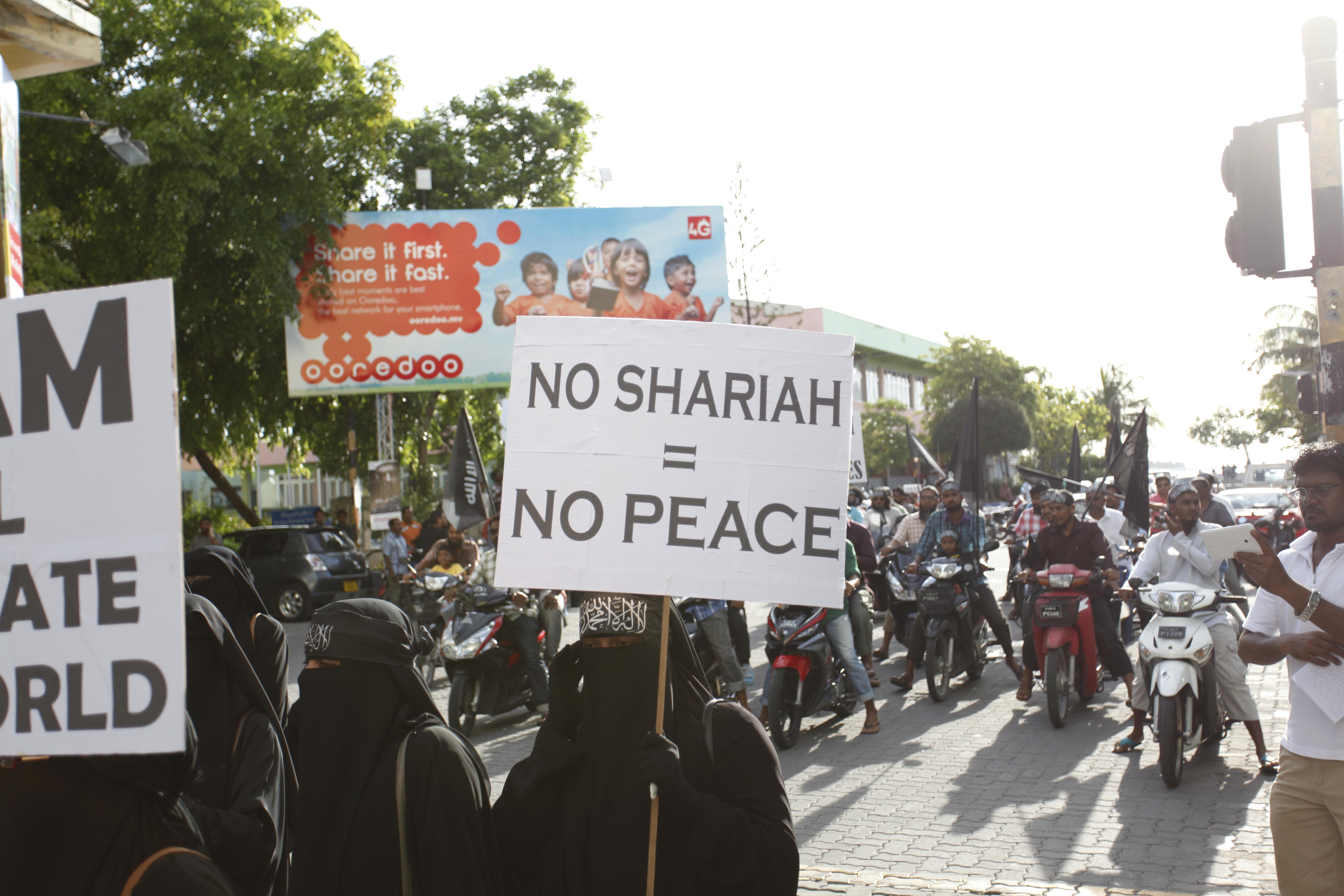 No Sharia, No Peace