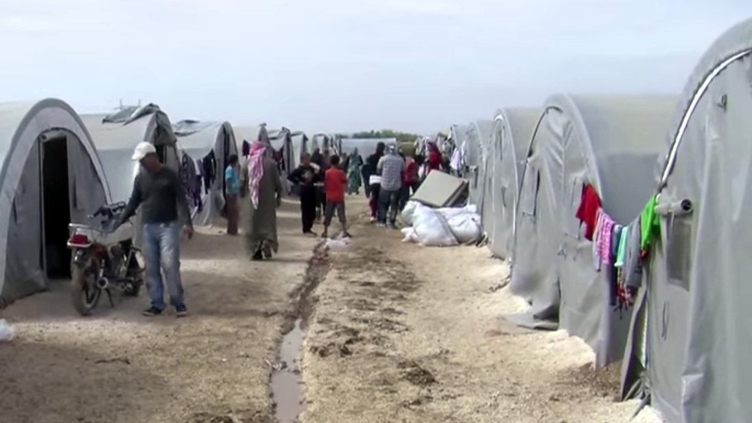 Kurdish Refugee Camp in Turkey