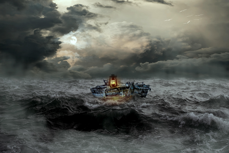Dark and Stormy Seas