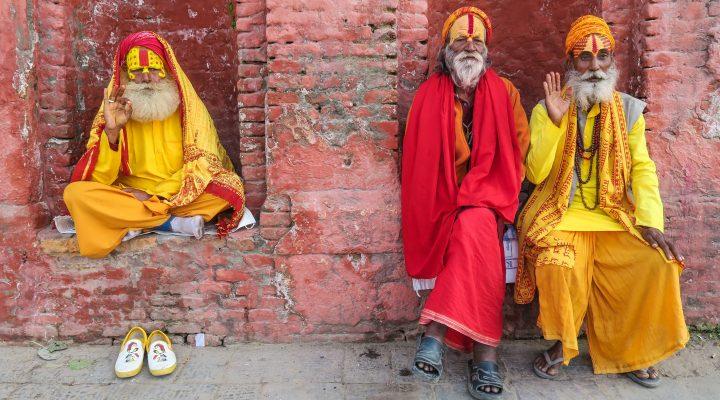 Holy Men in Nepal