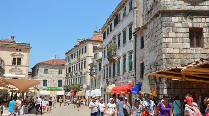 Old Town in Kotor, Montenegro