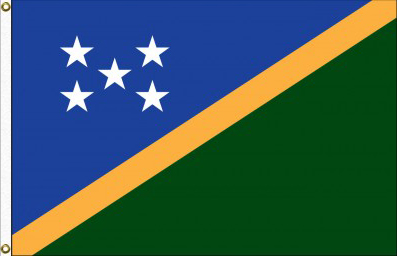 Solomon Islands Nylon Flags