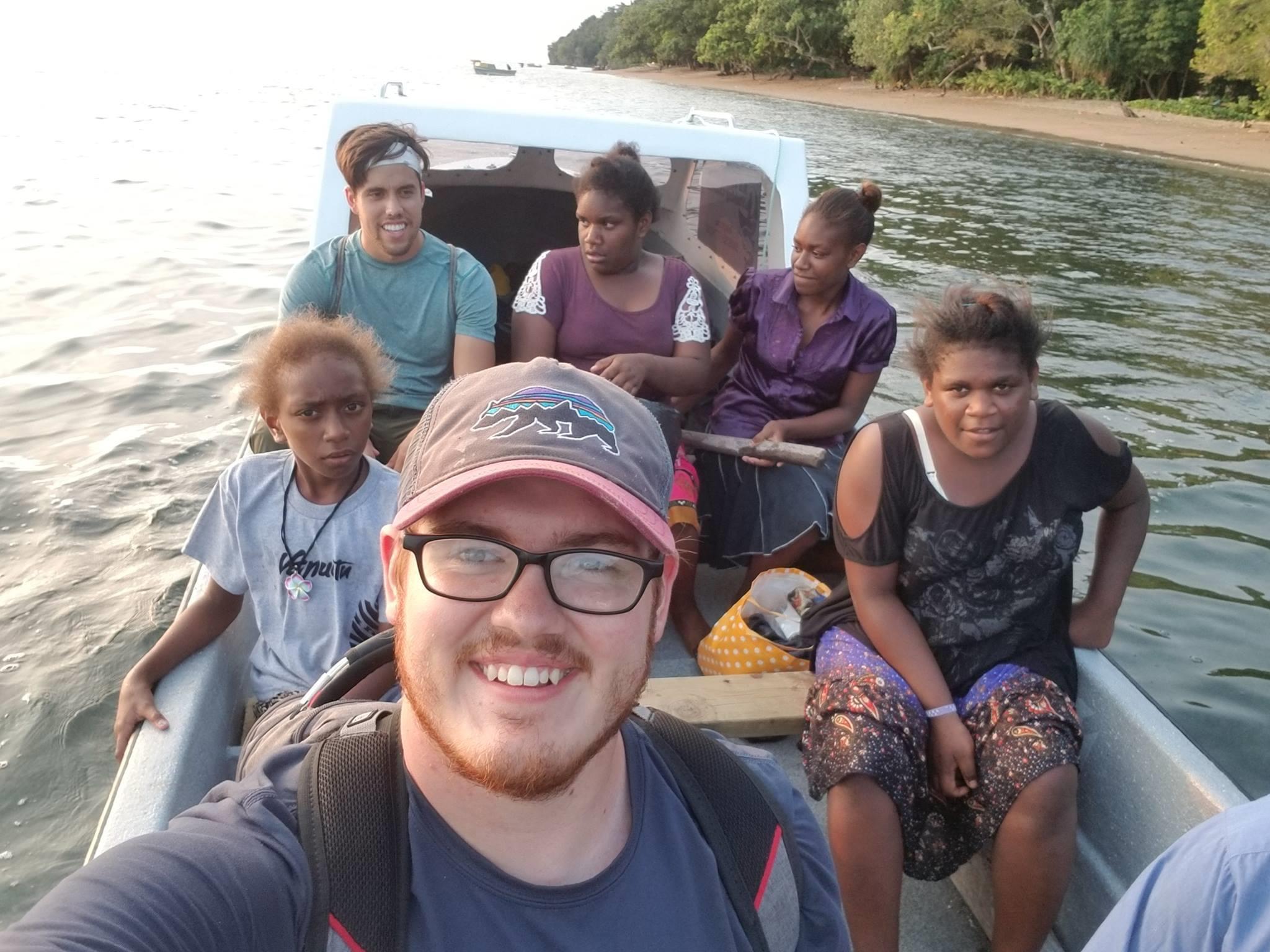 Zechariah Cunningham in Vanuatu
