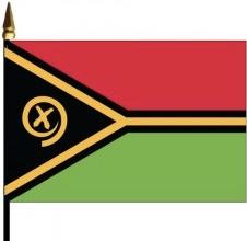 Vanuatu Mounted Flags