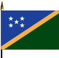 Solomon Islands Mounted Flags