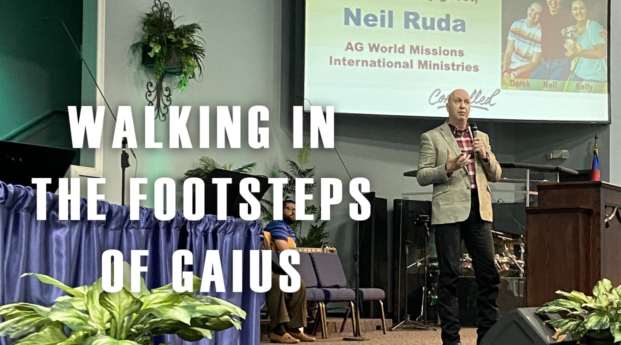 Neil Ruda: Walking in the Footsteps of Gaius