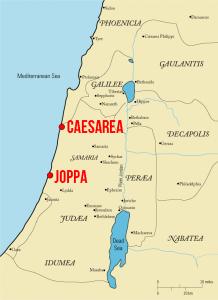 Joppa and Caesarea